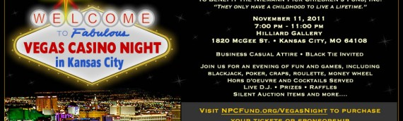 Vegas in Kansas City Casino Night Fundraiser 11-11-11