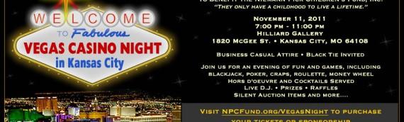 Vegas in Kansas City Casino Night Fundraiser 11-11-11