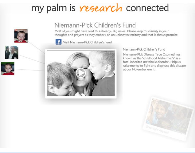 Palm Connections & Niemann-Pick Childrens' Fund | Facebook